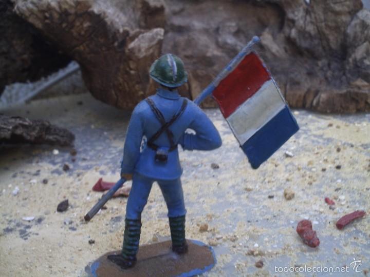 Figuras de Goma y PVC: abanderado frances de comansi 1º epoca - Foto 2 - 58802926