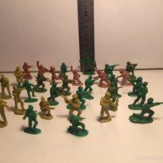 Figuras de Goma y PVC: SOLDADOS MONTAPLEX Y MONTAMAN. Lote 58884482