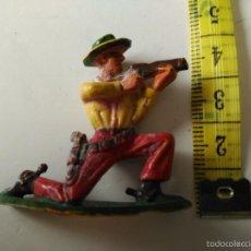 Figuras de Goma y PVC: FIGURA DE STARLUX EXPLORADOR VAQUERO PIONERO TRAMPERO. Lote 58892276