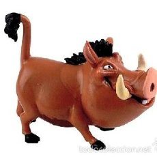 Figuras de Goma y PVC: FIGURA PVC PUMBA (REY LEON) DISNEY - ORIGINAL DE BULLYLAND. Lote 176247030