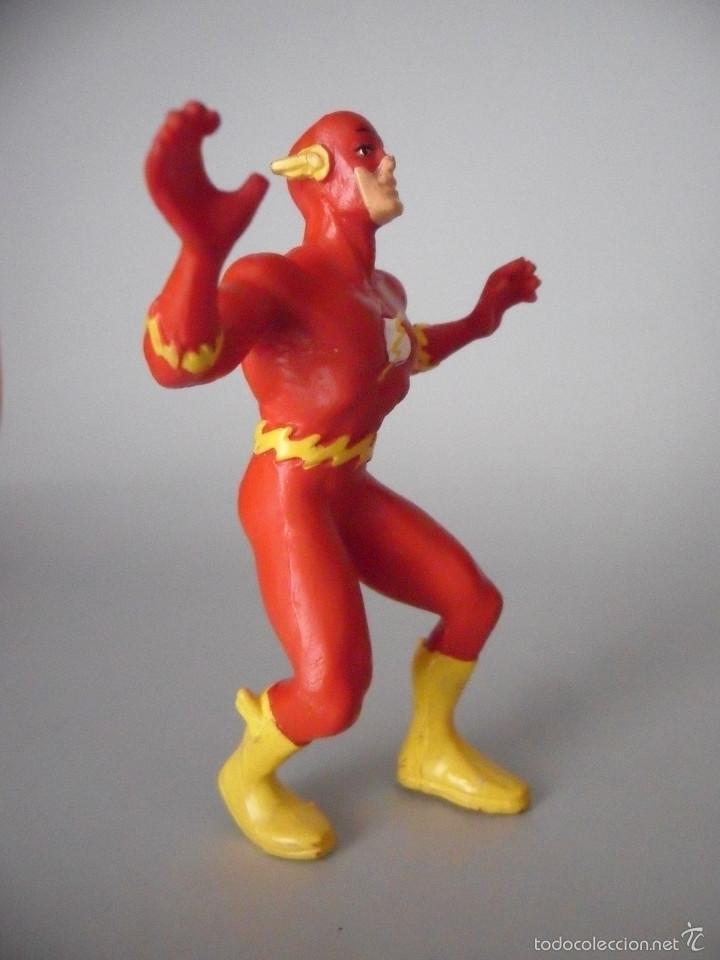 Figuras de Goma y PVC: FLASH PVC FIGURA DE PVC DE 9 CM DC COMICS SPAIN 1991 - Foto 2 - 59438885