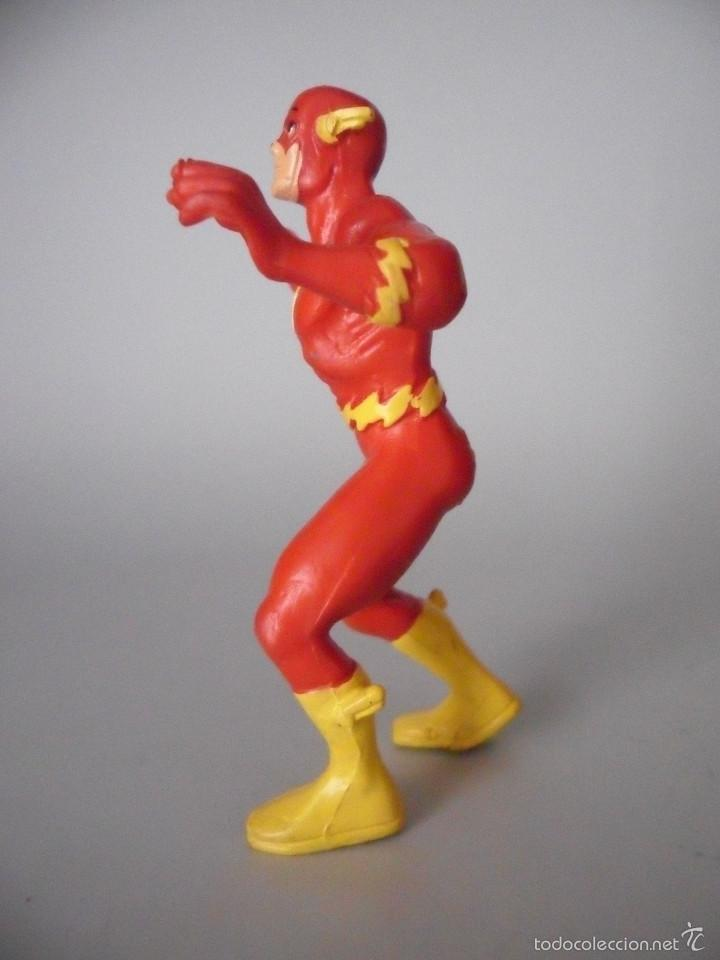 Figuras de Goma y PVC: FLASH PVC FIGURA DE PVC DE 9 CM DC COMICS SPAIN 1991 - Foto 3 - 59438885