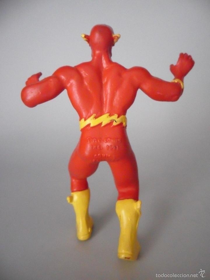 Figuras de Goma y PVC: FLASH PVC FIGURA DE PVC DE 9 CM DC COMICS SPAIN 1991 - Foto 4 - 59438885