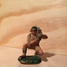 Figuras de Goma y PVC: FIGURA PECH GOMA INGLES AÑOS 60. Lote 59446255