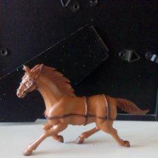 Figuras de Goma y PVC: FIGURA PVC CABALLO COMANSI. OESTE.. Lote 59660287