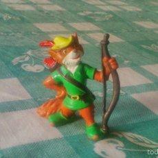 Figuras de Goma y PVC: ROBIN HOOD FOX BULLY PVC FIGURA TOPPER DISNEY 1982 ,RARA DE VER.. Lote 59669647