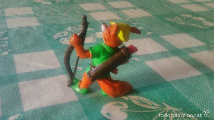 Figuras de Goma y PVC: Robin Hood Fox Bully PVC figura topper Disney 1982 ,rara de ver. - Foto 2 - 59669647