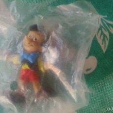 Figuras de Goma y PVC: FIGURA PINOCHO WALT DISNEY PRODUCTIONS,AÑOS 80.NUEVO EN BOLSA.. Lote 91697274