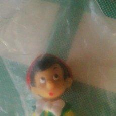 Figuras de Goma y PVC: FIGURA PINOCHO WALT DISNEY PRODUCTIONS,NUEVO EN BOLSA.A AÑOS 80. Lote 59671403