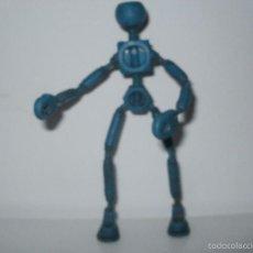 Figuras de Goma y PVC: CURIOSO ROBOT DE PLASTICO Y ARMAZON METALICO TO'GL PEOPLE MATTEL 1969. Lote 59719907