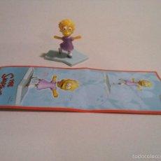 Figuras Kinder: KINDER SIMPSONS LISA MUÑECO FERRERO HUEVO SORPRESA FIGURITA CHOCOLATE MINIATURA SIMPSON. Lote 59756972