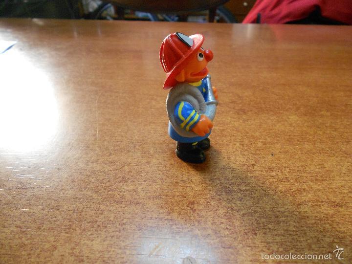 Figuras de Goma y PVC: FIGURA DE EPI BOMBERO EN PVC, BARRIO SESAMO (MUPPETS) TELEÑECOS, APPLAUSE JIM HENSON - Foto 2 - 59768980