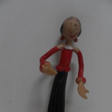 Figuras de Goma y PVC: VICMA AÑOS 80 MADE IN SPAIN FIGURA DE PVC FLEXI OLIVIA LA NOVIA DE POPEYE. Lote 59850768