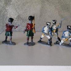 Figuras de Goma y PVC: ANTIGUOS SOLDADOS PVC. Lote 59892663