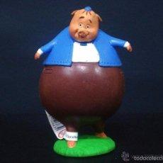 Figuras de Goma y PVC: FIGURA O MUÑECO GOMA PVC - CHICKEN LITTLE RUNDELL RUNT BENJAMON - BULLY. Lote 59924975
