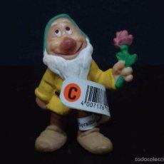 Figuras de Goma y PVC: FIGURA O MUÑECO GOMA PVC - ENANITO DE BLANCANIEVES - BULLY. Lote 60078787