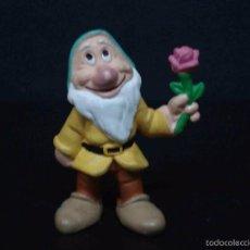 Figuras de Goma y PVC: FIGURA O MUÑECO GOMA PVC - ENANITO DE BLANCANIEVES - BULLY. Lote 60078879