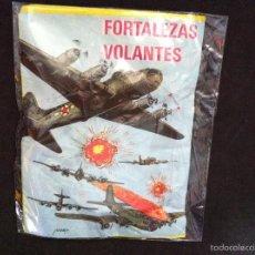Figuras de Goma y PVC: ANTIGUO SOBRE SORPRESA. KIOSKOS AÑOS 70. FORTALEZAS VOLANTES. SIN ABRIR. Lote 60086827