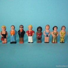 Figuras de Goma y PVC: EL BARRIO CHINO FIGURAS DE PVC 1981. Lote 60098339