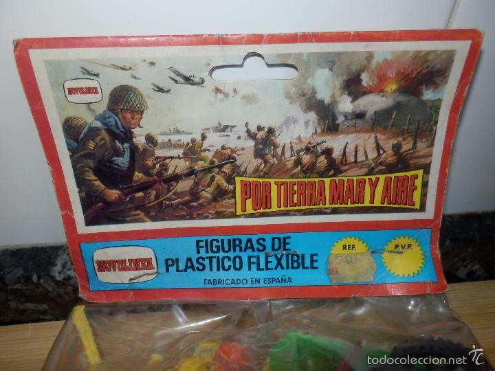 Figuras de Goma y PVC: bolsa figuras pvc comansi novolinea americanos camion por tierra mar y aire precintada - Foto 2 - 60099903