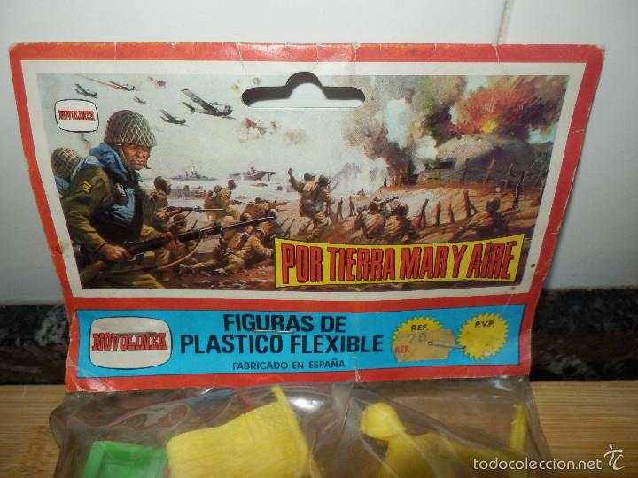 Figuras de Goma y PVC: bolsa figuras pvc comansi novolinea americanos camion por tierra mar y aire precintada - Foto 3 - 60099903