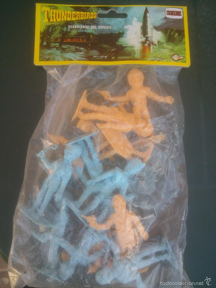 Figuras de Goma y PVC: comansi guardianes del espacio en su blister original - Foto 4 - 60211295