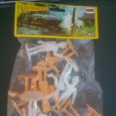 Figuras de Goma y PVC: COMANSI GUARDIANES DEL ESPACIO EN SU BLISTER ORIGINAL. Lote 134263153