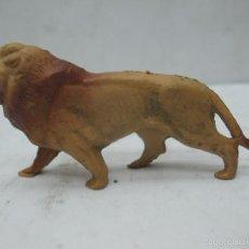 Figuras de Goma y PVC: OMO - ANIMAL DE PLÁSTICO LEÓN. Lote 60408351
