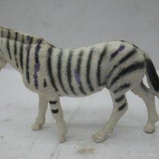 Figuras de Goma y PVC: OMO - ANIMAL DE PLÁSTICO ZEBRA. Lote 60408787