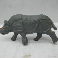 Figuras de Goma y PVC: OMO - ANIMAL DE PLÁSTICO RINOCERONTE. Lote 60415111