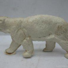 Figuras de Goma y PVC: OMO - ANIMAL DE PLÁSTICO OSO POLAR. Lote 60415263