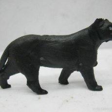 Figuras de Goma y PVC: OMO - ANIMAL DE PLÁSTICO PANTERA NEGRA. Lote 60419643