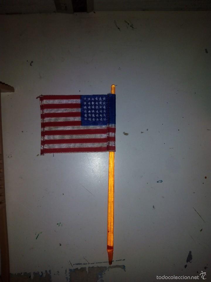 Figuras de Goma y PVC: Torreta vigía con bandera americana en tela - Foto 3 - 60420235