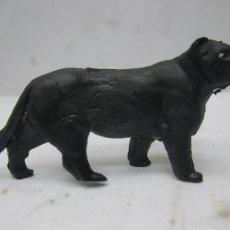 Figuras de Goma y PVC: OMO - ANIMAL DE PLÁSTICO PANTERA NEGRA. Lote 60420279