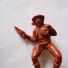 Figuras de Goma y PVC: FIGURA VAQUERO EN PLASTICO 54MM. Lote 60429339