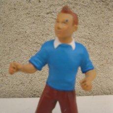 Figuras de Goma y PVC: TINTÍN - FIGURA DE PVC - HERGÉ - PLASTOY.. Lote 60443347
