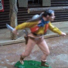 Figuras de Goma y PVC: VAQUERO DE REAMSA. Lote 60509687