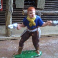 Figuras de Goma y PVC: VAQUERO DE REAMSA. Lote 60518167