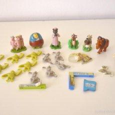 Figuras Kinder: 7 FIGURAS COLECCIONES KINDER SORPRESA: ICE AGE Y SHERK. Lote 60721311