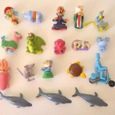Figuras Kinder: 18 FIGURAS COLECCIONES KINDER SORPRESA VARIADAS. Lote 60722847