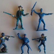Rubber and PVC Figures - Federales comansi, original años 60. - 60777271