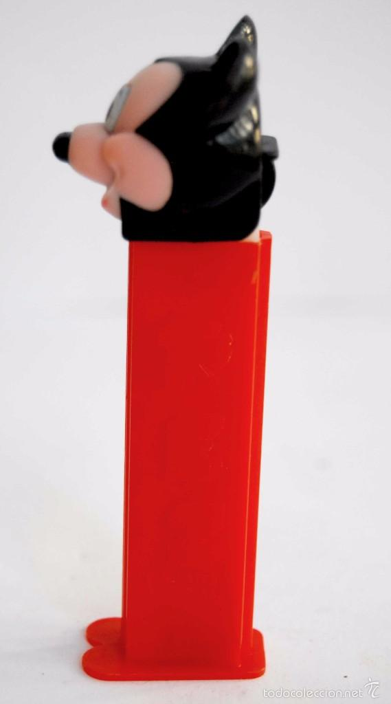 Dispensador Pez: PEZ MICKEY MOUSE MUY DIFICIL DE ENCONTRAR WALT DISNEY MIKI MICKI DISPENSADOR ROJO - Foto 3 - 60800879