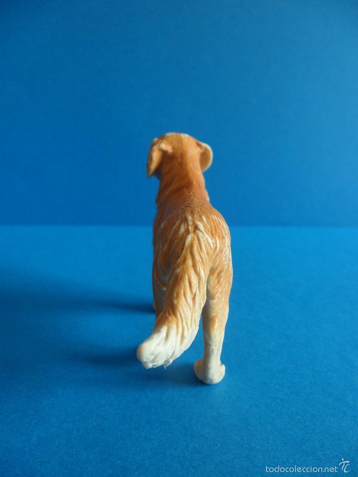 Figuras de Goma y PVC: Figura de Perro Golden retriever - cobrador dorado - Schleich 2003 - Germany - Foto 5 - 60868367