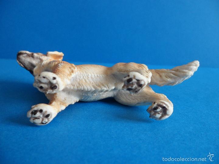 Figuras de Goma y PVC: Figura de Perro Golden retriever - cobrador dorado - Schleich 2003 - Germany - Foto 6 - 60868367