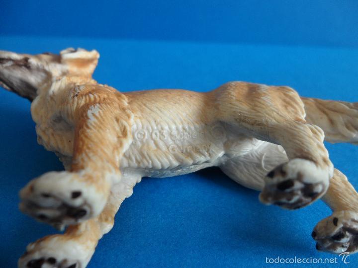 Figuras de Goma y PVC: Figura de Perro Golden retriever - cobrador dorado - Schleich 2003 - Germany - Foto 7 - 60868367