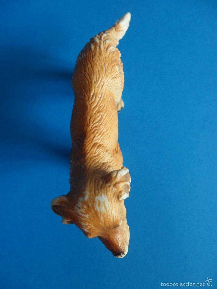 Figuras de Goma y PVC: Figura de Perro Golden retriever - cobrador dorado - Schleich 2003 - Germany - Foto 9 - 60868367