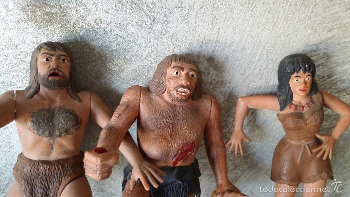 Figuras de Goma y PVC: ANTIGUAS FIGURAS DIORAMA PREHISTÓRICO - Foto 16 - 60927075