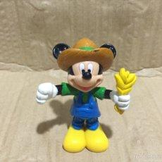 Figuras de Goma y PVC: FIGURA PLASTICO ARTICULADA MICKEY MOUSE. Lote 61031025