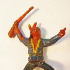 Figuras de Goma y PVC: INDIO EN GOMA. AÑOS 50. GAMA. Lote 61189631
