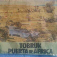 Figuras de Goma y PVC: SOBRE SORPRESA KIOSCO MAPRA ,TOBRUK PUERTA DE ÁFRICA.. Lote 61217943